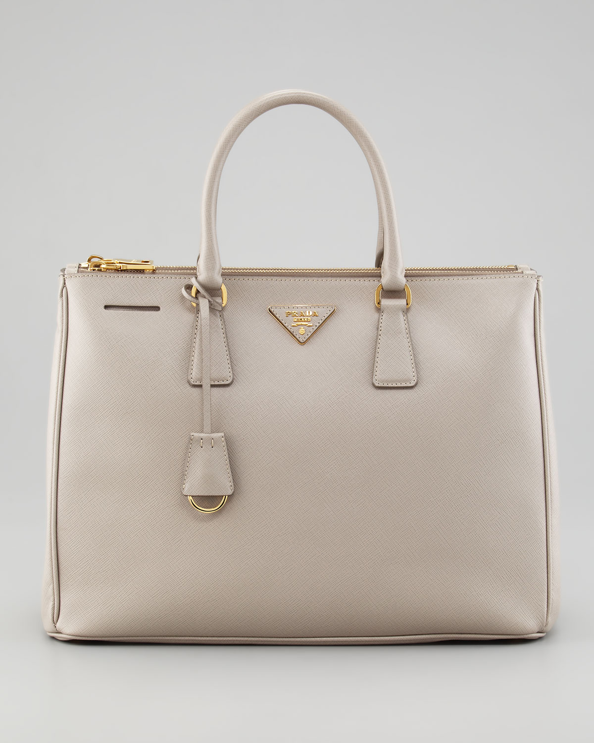 b9a0444b4994 ... discount code for prada saffiano executive tote bag pomice in natural  lyst d756c 4abff