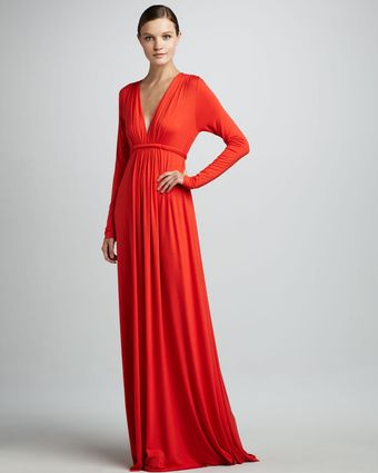 Rachel Pally Caftan Vneck Dress - Lyst
