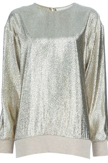 Stella McCartney Metallic Top - Lyst
