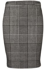 Topshop Check Pencil Skirt - Lyst