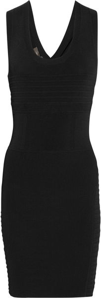 Vera Wang Knitted Dress - Lyst