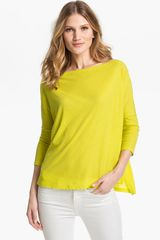 Vince Cotton Top - Lyst