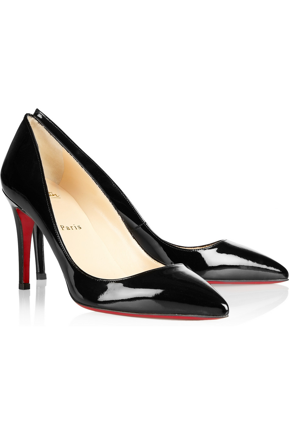 San Francisco 753c4 489d2 Christian Louboutin The Pigalle 85 Patentleather Pumps in ...