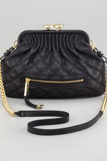 Marc Jacobs Stam Little Quilted Leather Crossbody Bag   - Lyst