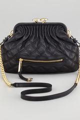 Marc Jacobs Quilted Leather Crossbody Bag - Lyst