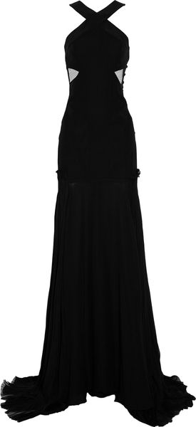 Prabal Gurung Tulle and Silkcrepe Gown - Lyst