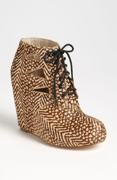 Steve Madden Raider Bootie in Brown (black/ tan) - Lyst