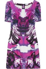 Temperley London Printed Silk Twill Dress - Lyst