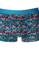 Calvin Klein Calvin Klein Bird Stripe Trunks - Lyst
