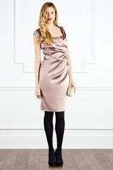 Coast Alva Duchess Satin Dress - Lyst