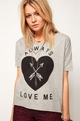 ASOS Collection Asos Tshirt with Always Love Me - Lyst