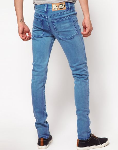 Super skinny jeans for men at Express sit low on the waist and have a slim fit from hip to hem. They also fit closer to the body for a sleek, handsome look. In classic washes from light to black with added details like whiskering, fraying and destruction, men's super skinny jeans are a .