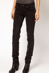 Cheap Monday Skinny Jeans with Seam Detail - Lyst