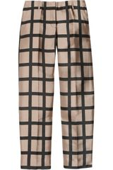 J.Crew Café Windowpane-check Capri Pants - Lyst