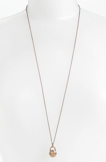 Michael by Michael Kors Brilliance Pendant Necklace - Lyst