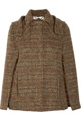Stella McCartney Dana Wool Tweed Cape - Lyst