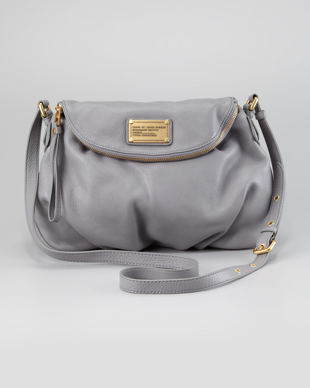 fddda10017ca Lyst - Marc By Marc Jacobs Classic Q Natasha Crossbody Bag Light ...