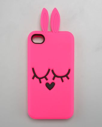 Marc By Marc Jacobs Katie Bunny Iphone 5 Case - Lyst
