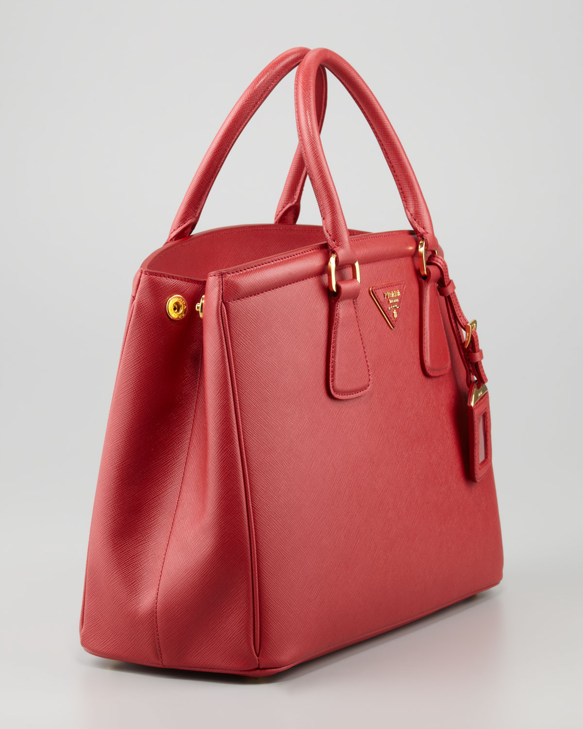 prada inspired handbags - red prada tote, authentic prada handbags for less