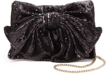 RED Valentino Paillettes Bow Bag - Lyst