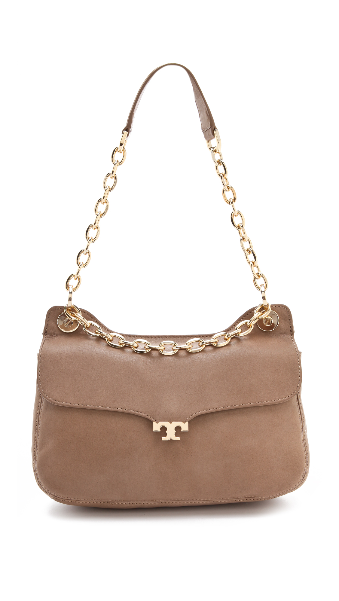 Tory Burch Megan Shoulder Bag Taupe 39