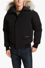 Canada Goose Chilliwack Down Bomber Jacket with Genuine Coyote Trim - Lyst