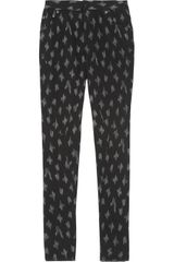 Cut25 Printed Stretch Jersey Leggings - Lyst