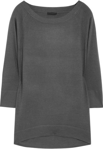 Donna Karan New York Cashmere and Silkblend Sweater - Lyst