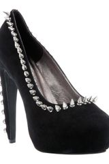 Jeffrey Campbell Madame Studded Pump - Lyst