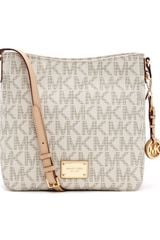 Michael by Michael Kors Large Jet Set Logo Messenger - Lyst