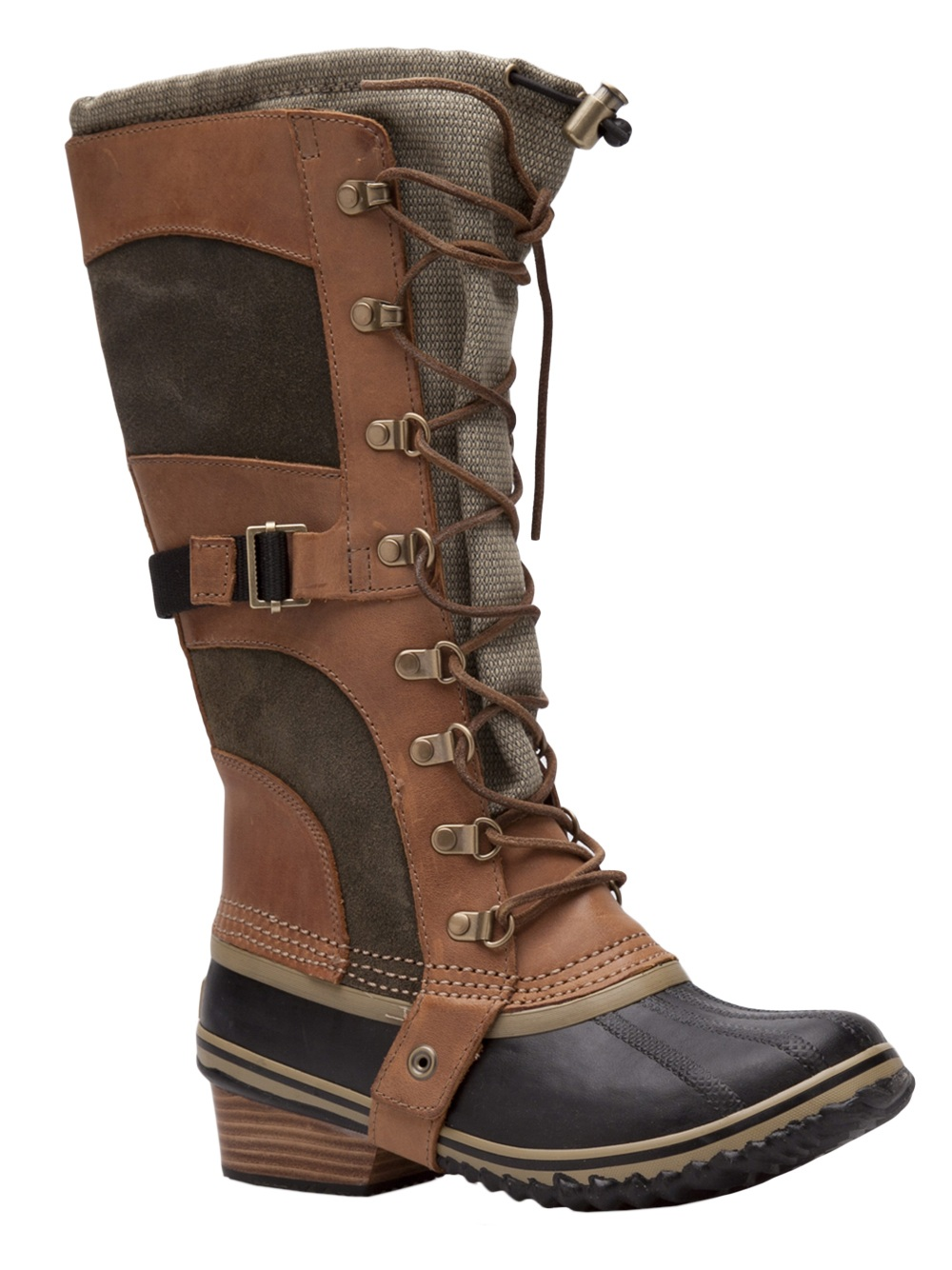 Sorel Conquest Carly Tall Boot In Brown Lyst