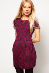 ASOS Collection Asos Baroque Skater Dress - Lyst