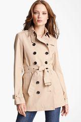 Burberry Brit Crombridge Double Breasted Trench - Lyst