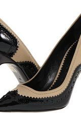 Burberry Brogue Detail Pumps - Lyst