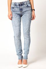Cheap Monday Tight Light Wash Skinny Jeans - Lyst