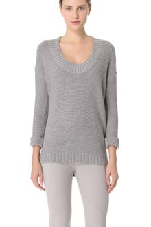 Donna Karan New York Alpaca Sweater - Lyst
