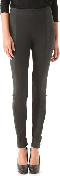 Donna Karan New York Two Tone Pants - Lyst