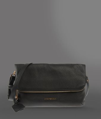 Emporio Armani Leather Shoulder Bag - Lyst