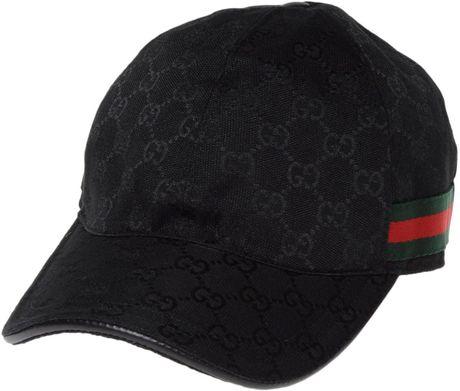 Gucci Hat In Black For Men Noir Lyst