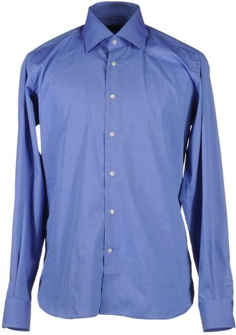 Lagerfeld Long Sleeve Shirt - Lyst