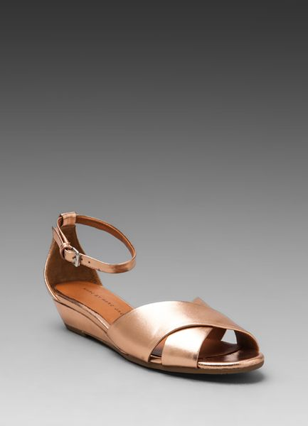 Marc By Marc Jacobs Classic Sandal Wedge In Black Lyst