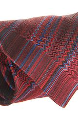 Missoni Seismic Waves Tie - Lyst