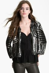 Parker Sequin Jacket - Lyst
