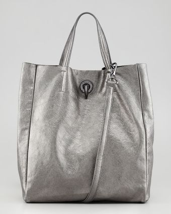 Rachel Zoe Eve Day Tote Bag Pewter - Lyst