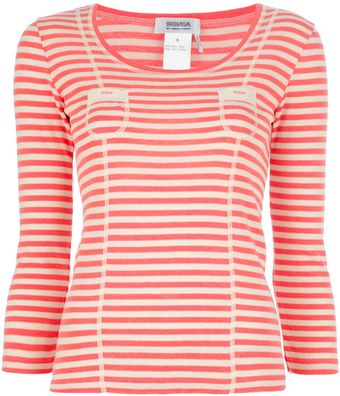 Sonia By Sonia Rykiel Striped Top - Lyst