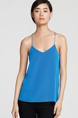Tibi Top Basic Silk Camisole - Lyst