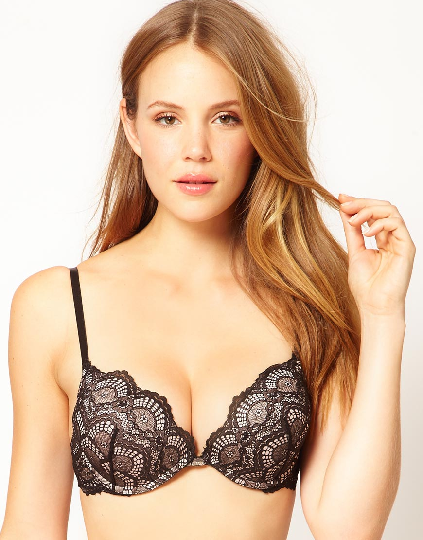 d9806e377d Lyst - Ultimo The One Lace Bra in Black