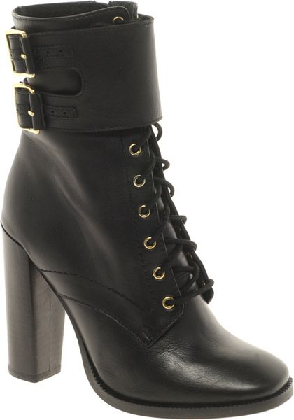 Asos Asos Appeal Ankle Boots in Black - Lyst