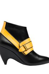Balenciaga  Arcade Low Boots  in Black (black moutarde) - Lyst