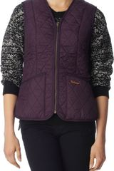 Barbour Betty Quilted Gilet - Lyst